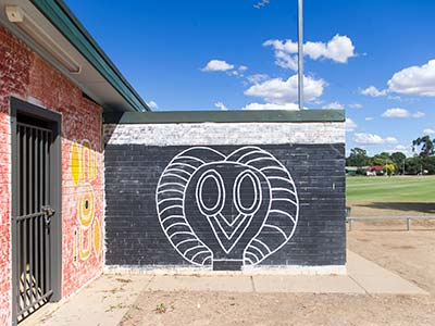 Ashmont Oval Mural